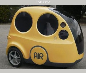 zero pollution air car