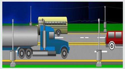 Piezoelectric road converts traffic energy