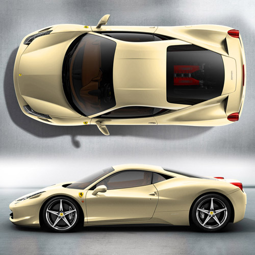 Craze For Cars » Ferrari-458-italia-colors