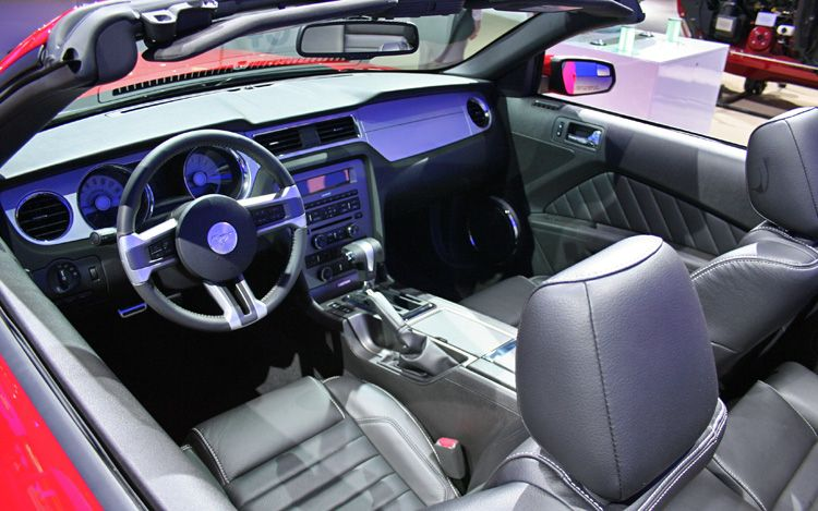 Mca Sp Ed Ford Mustang Interior