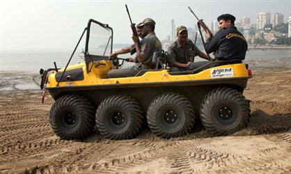 Indian anti terrorist attack vehicle