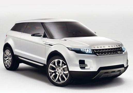 Land Rover Range Rover Evoque side