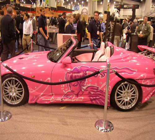 Craze For Cars » Top 10 Amazing Car Paintings