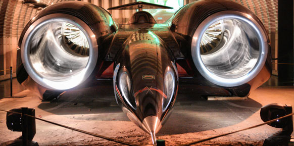 Thrust SSC  Great Britain (763 mph)