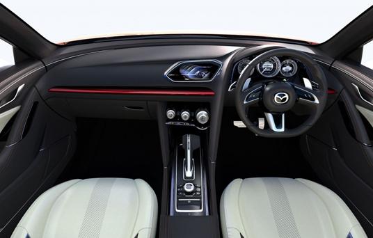Mazda Sedan Interior View