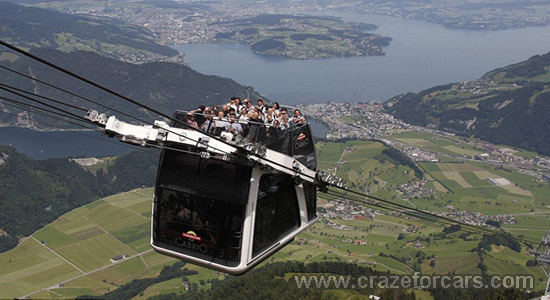 Double Decker Cable car