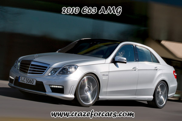 2010 E63 AMG
