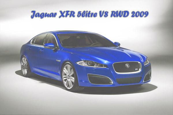 Jaguar XFR 5litre V8 RWD 2009