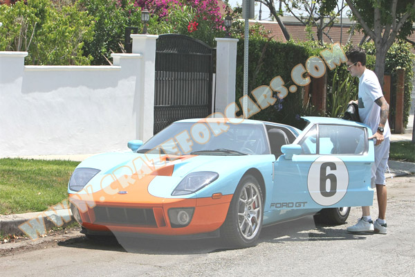 John Mayer Orange Ford Gt