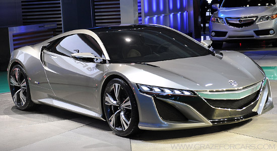 Craze for cars » Acura NSX Production Version to be unveiled at the