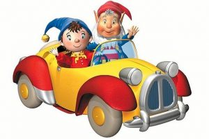 NODDY'S magical car