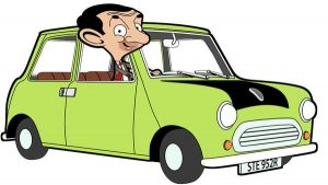 mr. bean's car